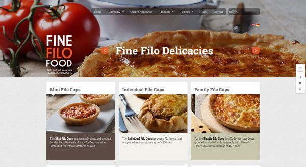 Fine Filo Food