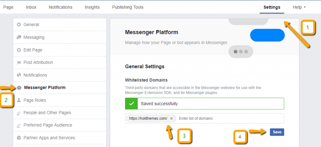 add opencart facebook chat