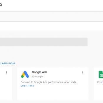 Add xml feed to google Data Studio