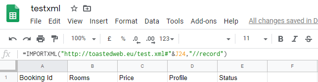 Add xml feed to google Data Studio - Free - and with auto update